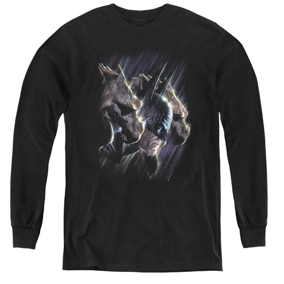 Batman Gargoyles - Youth Long Sleeve Tee