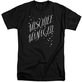 Harry Potter Mischief Managed 4 Short Sleeve Adult Tall T-Shirt