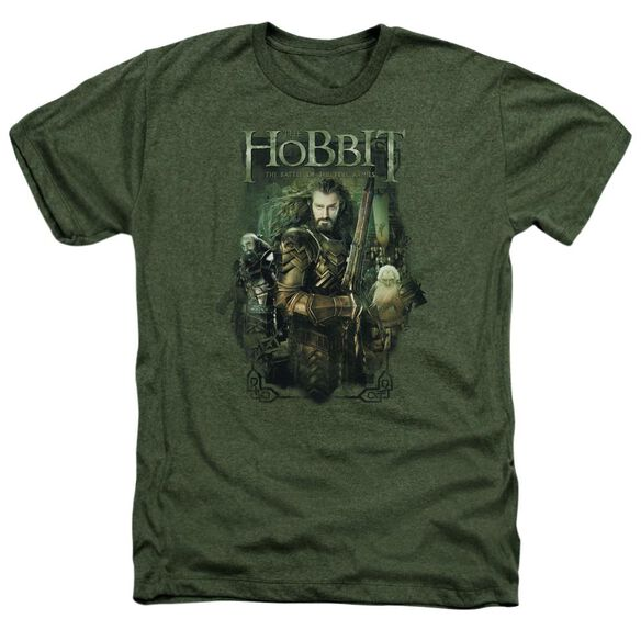 Hobbit Thorin And Company Adult Heather Military
