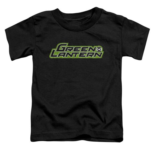 Green Lantern Scribble Title Short Sleeve Toddler Tee Black Sm T-Shirt