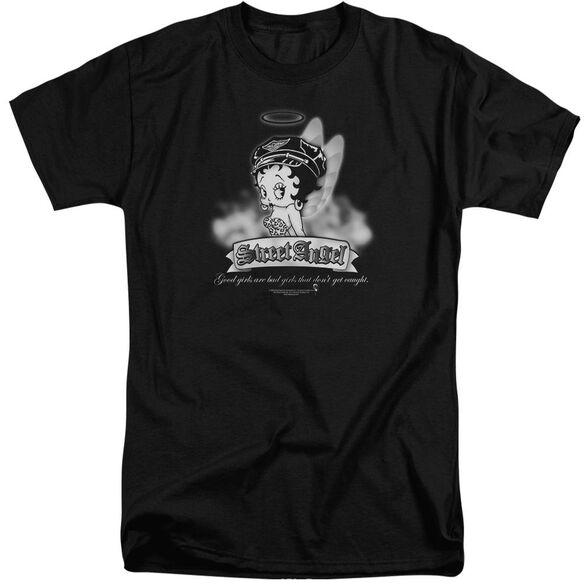 Betty Boop Street Angel Short Sleeve Adult Tall T-Shirt