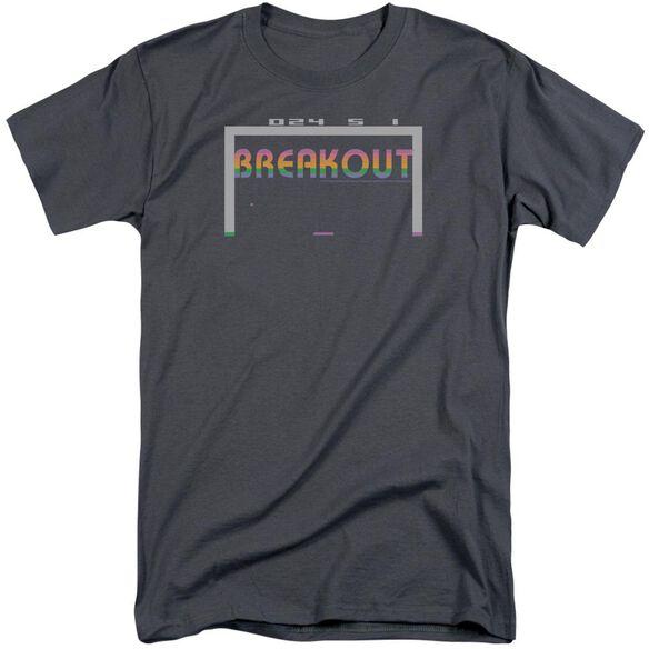 Atari Breakout 2600 Short Sleeve Adult Tall T-Shirt