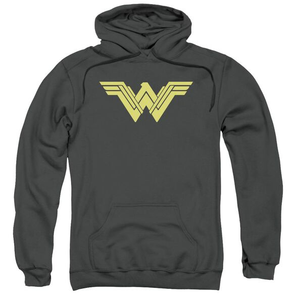 Batman V Superman Clean Line Logo Adult Pull Over Hoodie
