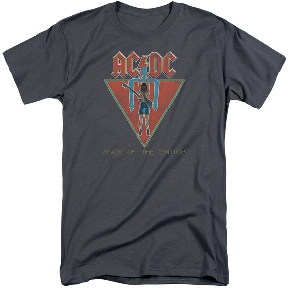 Acdc Flick Of The Switch Short Sleeve Adult Tall T-Shirt