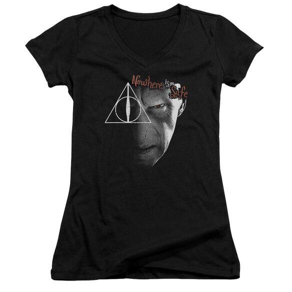 Harry Potter Nowhere Is Safe Junior V Neck T-Shirt