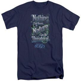 Fantastic Beasts Unnatural Short Sleeve Adult Tall T-Shirt