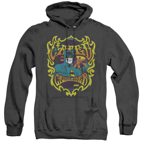 Dc Appearing Tonight - Adult Heather Hoodie - Black