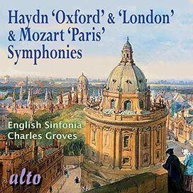 Haydn/ Mozart/ English Sinfonia/ Charles Groves - Oxford & London Symphonies / Paris Symphony