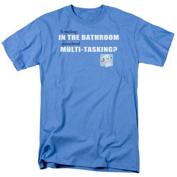 Bathroom Reading Short Sleeve Adult Carolina T-Shirt