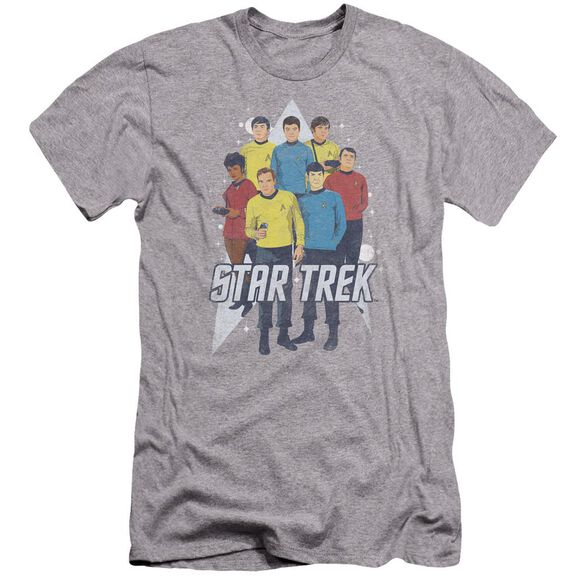 Star Trek Here Here Premuim Canvas Adult Slim Fit Athletic