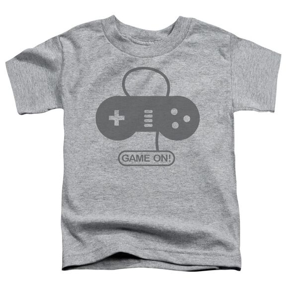 Game On Short Sleeve Toddler Tee Athletic Heather T-Shirt