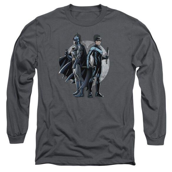 Batman Spotlight Long Sleeve Adult T-Shirt