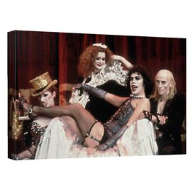 Rocky Horror Picture Show Throne Canvas Wall Art With Back Board