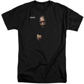 Issac Hayes Chocolate Chip Short Sleeve Adult Tall T-Shirt