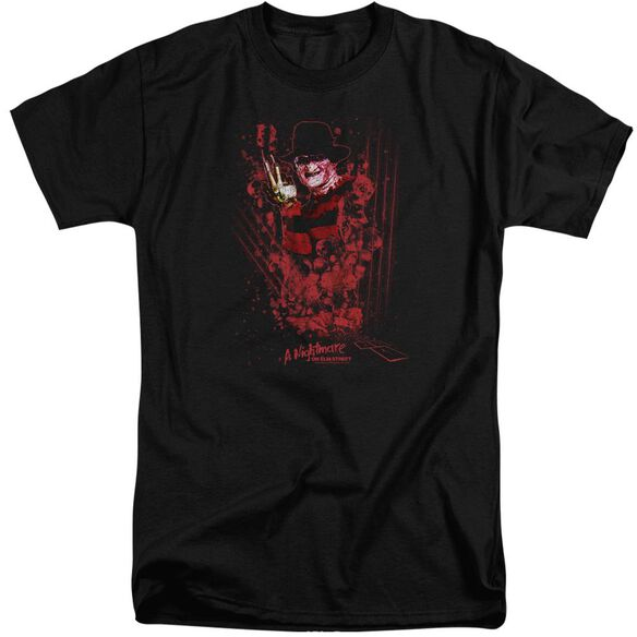 Nightmare On Elm Street One Two Freddys Coming For You Short Sleeve Adult Tall T-Shirt