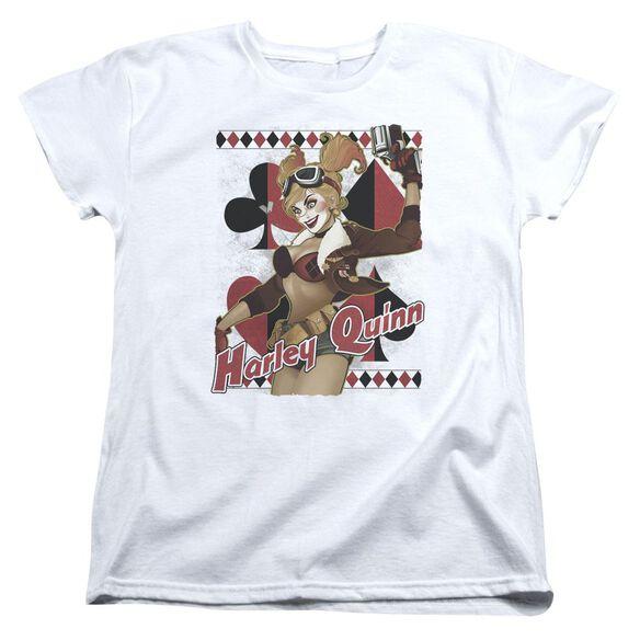 Jla Harley Bombshetll Short Sleeve Womens Tee T-Shirt
