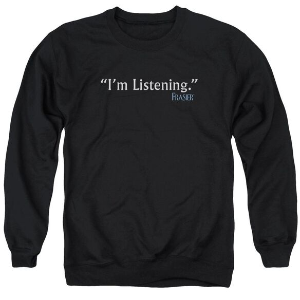 Frasier I'M Listening Adult Crewneck Sweatshirt