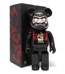 Hell Daruma 400% Bearbrick Figure