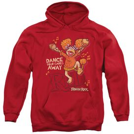 Fraggle Rock Dance Adult Pull Over Hoodie
