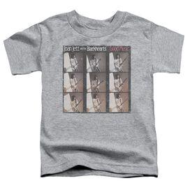 Joan Jett Good Music Short Sleeve Toddler Tee Athletic Heather T-Shirt