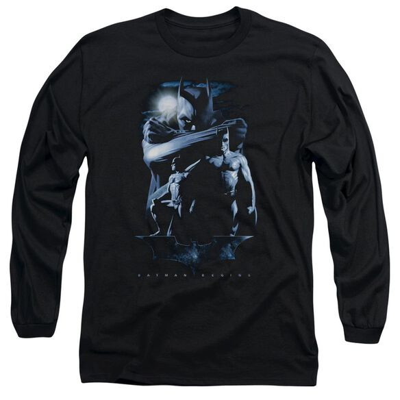 Batman Begins Forlorn Future Long Sleeve Adult T-Shirt