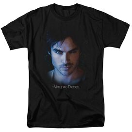 Vampire Diaries Damon Short Sleeve Adult T-Shirt