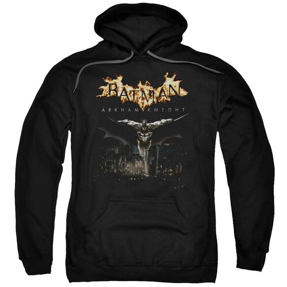 Batman Arkham Knight City Watch Adult Pull Over Hoodie