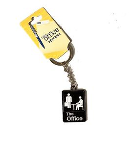 The Office Logo Metal Keychain