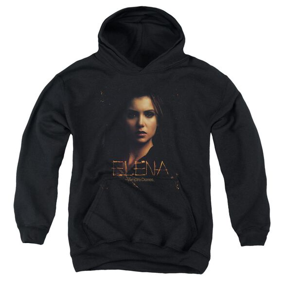 Vampire Diaries Elena Smokey Veil Youth Pull Over Hoodie