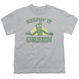 Gumby Keepin It Green Short Sleeve Youth T-Shirt