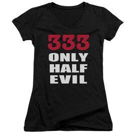 333 Junior V Neck T-Shirt