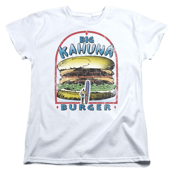 Pulp Fiction Big Kahuna Burger Short Sleeve Womens Tee T-Shirt