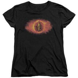 Lor Eye Of Sauron Short Sleeve Womens Tee T-Shirt