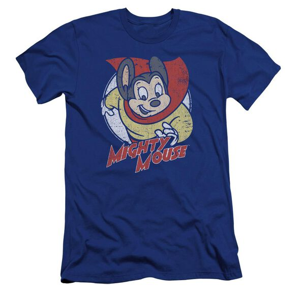 Mighty Mouse Mighty Circle Premuim Canvas Adult Slim Fit Royal