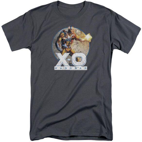 Xo Manowar Vintage Manowar Short Sleeve Adult Tall T-Shirt