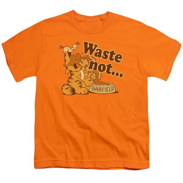 GARFIELD WASTE NOT - S/S YOUTH 18/1 - ORANGE T-Shirt