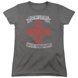 Bon Jovi Bad Medicine Short Sleeve Womens Tee T-Shirt