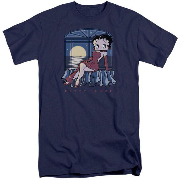 Betty Boop Moonlight Short Sleeve Adult Tall T-Shirt