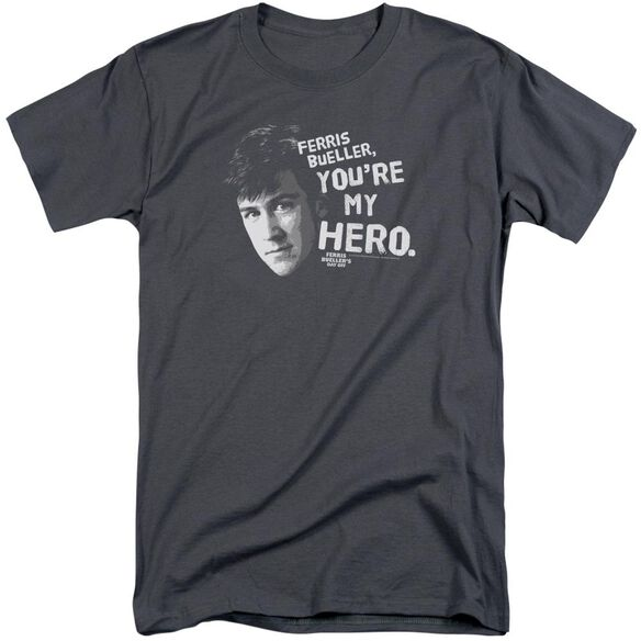 Ferris Bueller My Hero Short Sleeve Adult Tall T-Shirt