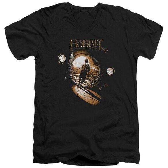 The Hobbit Hobbit Hole Short Sleeve Adult V Neck T-Shirt