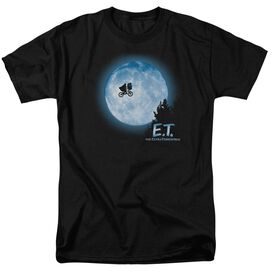Et Moon Scene Short Sleeve Adult T-Shirt