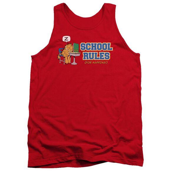 Garfield School Rules Adult Tank