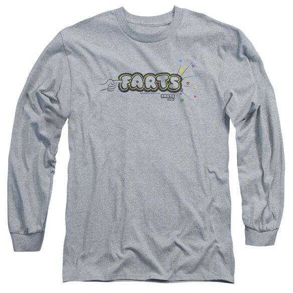 Farts Candy Finger Logo Long Sleeve Adult Athletic T-Shirt