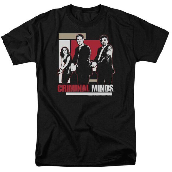 Criminal Minds Guns Drawn Short Sleeve Adult T-Shirt