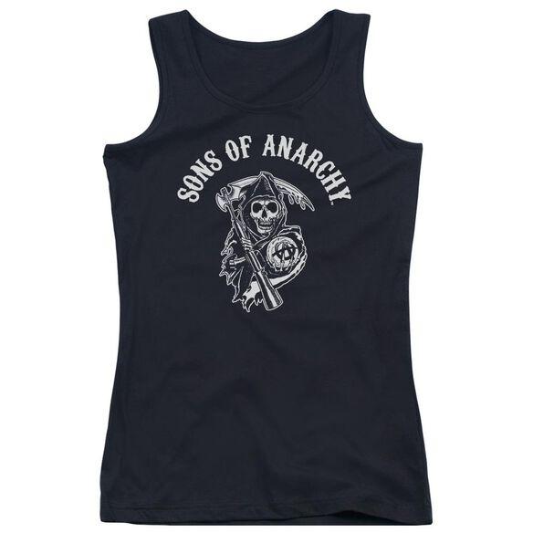 Sons Of Anarchy Soa Reaper Juniors Tank Top