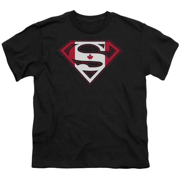 Superman Canadian Shield Short Sleeve Youth T-Shirt