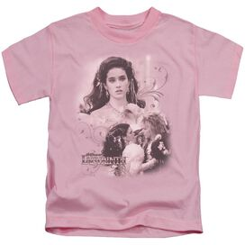 Labyrinth Sarah Short Sleeve Juvenile Pink T-Shirt