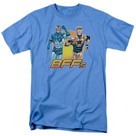 Jla Booster Beetle Bff Short Sleeve Adult Carolina T-Shirt