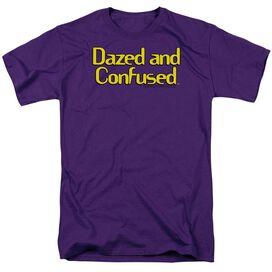 DAZED AND CONFUSED DAZED LOGO - S/S ADULT 18/1 - PURPLE - T-Shirt