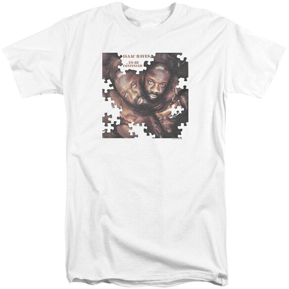 Isaac Hayes To Be Continued Short Sleeve Adult Tall T-Shirt